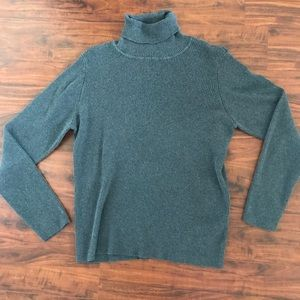 Traditions Grey Turtleneck Sweater